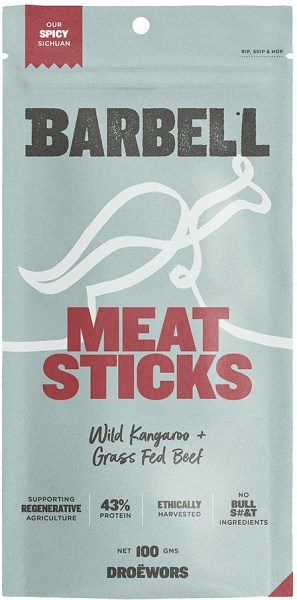 Barbell Spicy Sichuan Meat Sticks  100g