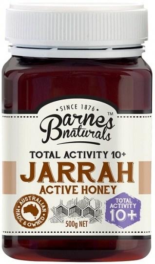 Barnes Naturals Active Jarrah Honey TA10+ 500g Jar