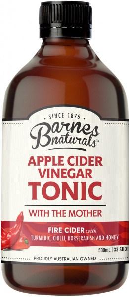Barnes Naturals Apple Cider Vinegar Fire Cider 500ml