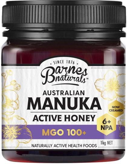 Barnes Naturals Australian Active Manuka Honey MGO 100+ 1kg