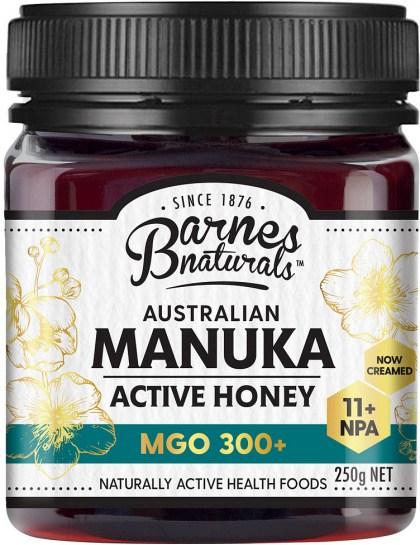 Barnes Naturals Australian Active Manuka Honey MGO 300+ 250g