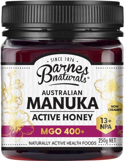 Barnes Naturals Australian Active Manuka Honey MGO 400+ 250g