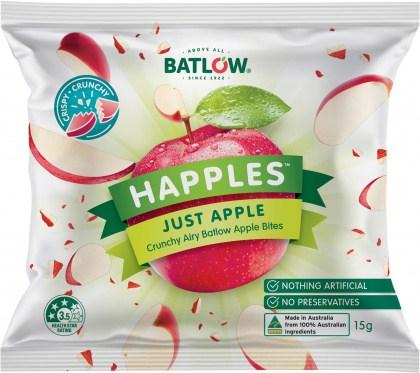 Batlow Happles Just Apple  10x15g