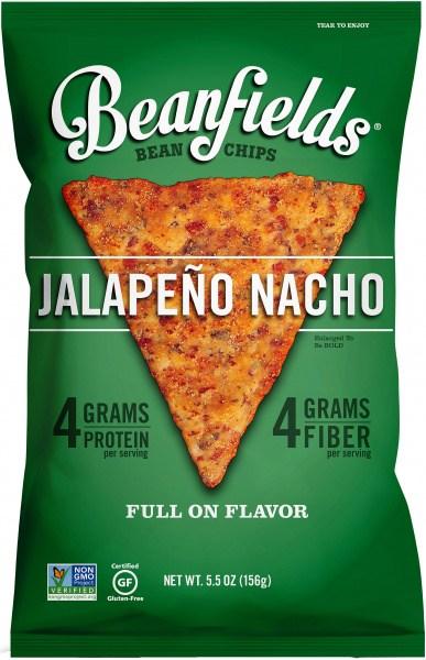 Beanfields Bean Chips Jalapeno Nacho  6x156g