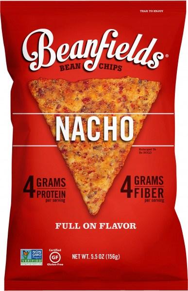 Beanfields Bean Chips Nacho  6x156g