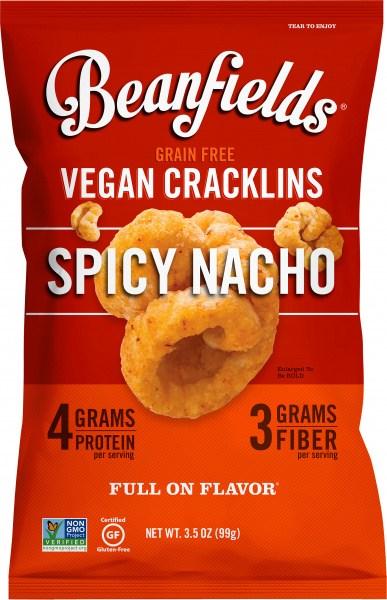 Beanfields Vegan Cracklins Spicy Nacho  6x99g