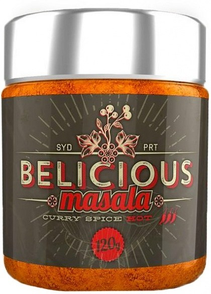 Belicious Masala Curry Spice Hot 120g SEP19