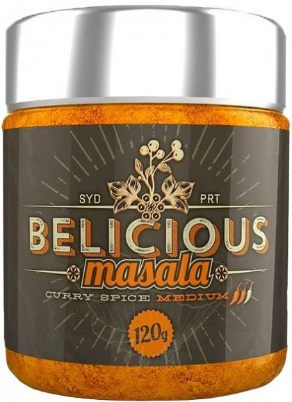 Belicious Masala Curry Spice Medium 120g
