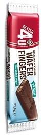 Better 4U Belgian Chocolate Wafer Finger (No Sugar) 21.5g