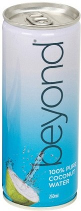 Beyond 100% Pure Coconut Water Slim Cans 6 x 250ml
