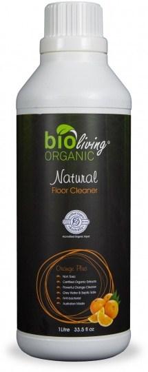 Bio Living Organic Natural Floor Cleaner Orange 1L