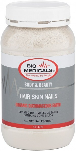 Bio-Medicals Hair Skin Nails (Diatomaceous Earth) 200g