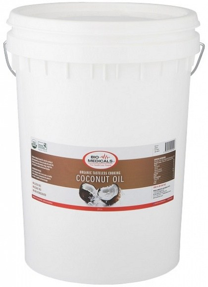 Bio-Medicals Organic Tasteless Cooking Coconut Oil 20L