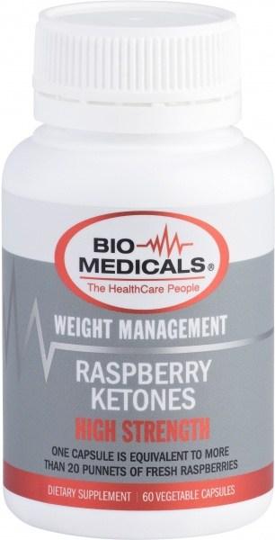 Bio-Medicals Raspberry Ketones 60Caps