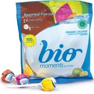 Bio Moments Organic Candy Lollipops (Ball)  (Bag) 104g