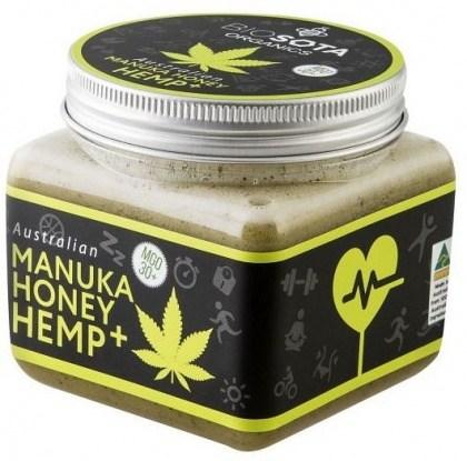 Biosota Organics Manuka Honey Jellybush MGO 30+ Hemp 350g