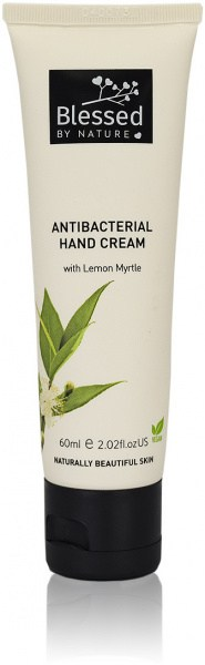 Blessed By Nature Antibacterial Hand Cream Tube 60ml NOV22