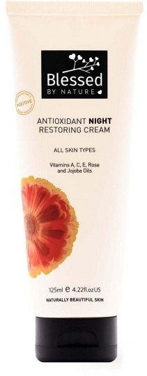 Blessed By Nature Antioxidant Night Restore Cream 125ml