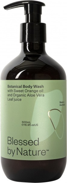 Blessed By Nature Botanical Body Wash 500ml