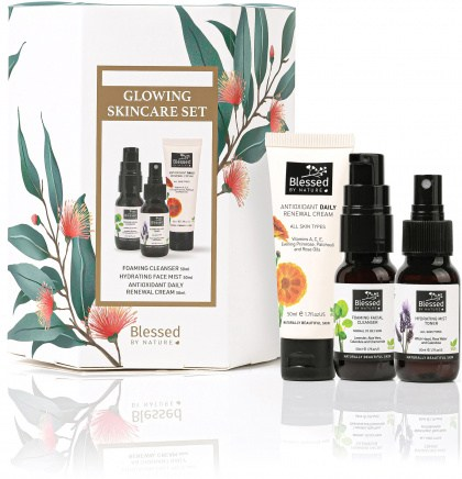 Blessed By Nature Glowing Skincare Set