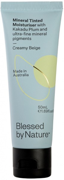 Blessed By Nature Mineral Tinted Moisturiser Creamy Beige 60ml