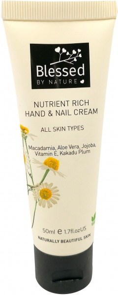 Blessed By Nature Nutrient Rich Hand & Nail Cream 50ml