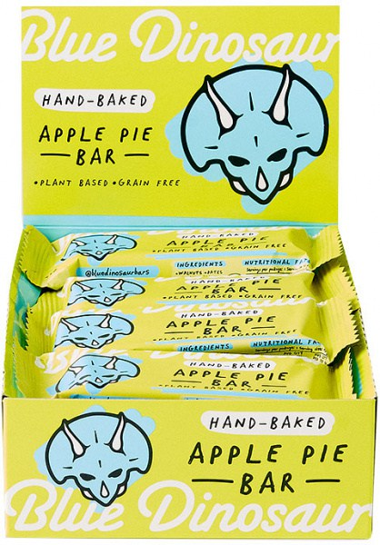 Blue Dinosaur Apple Pie  Bars 12x45g
