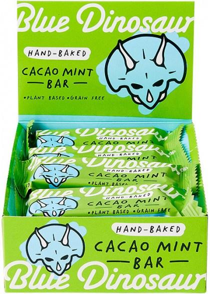 Blue Dinosaur Cacao Mint Bars 12x45g