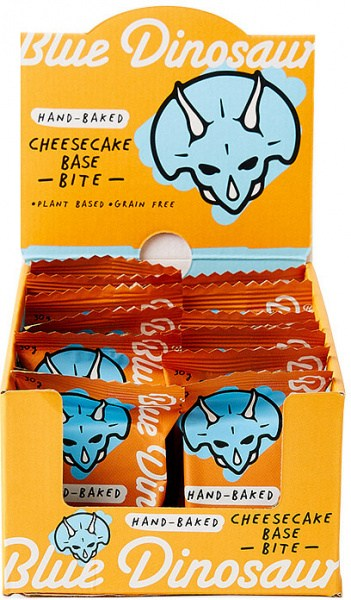 Blue Dinosaur Cheesecake Base Bites 18x30g