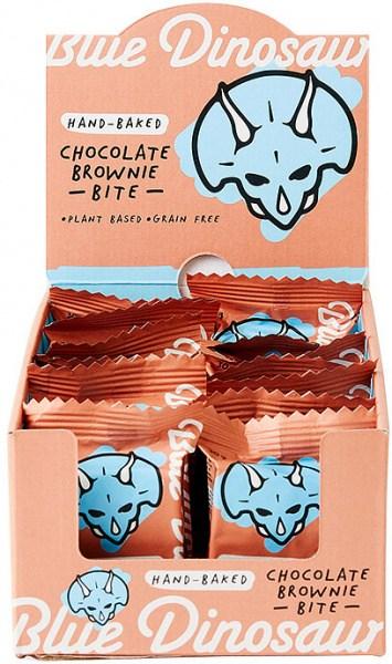 Blue Dinosaur Chocolate Brownie Bites18x30g