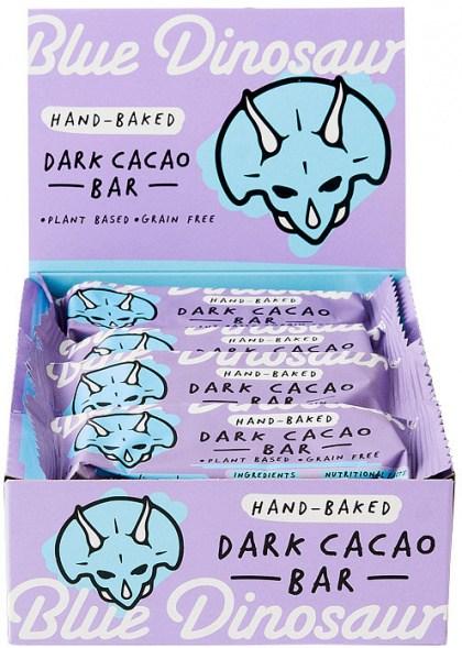 Blue Dinosaur Dark Cacao  Bars 12x45g