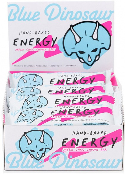 Blue Dinosaur Energy Bars Mylk Choc Chunk  12x45g
