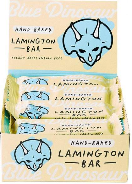 Blue Dinosaur Lamington Bars  12x45g
