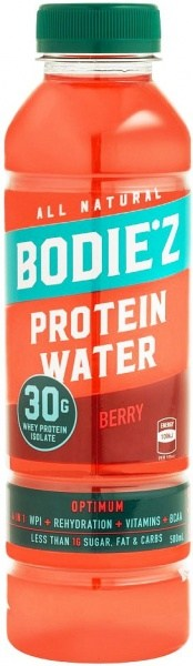 BODIE'z Protein Water Optimum (30g WPI) Berry 500ml