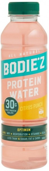 BODIE'z Protein Water Optimum (30g WPI) Citrus Punch 500ml