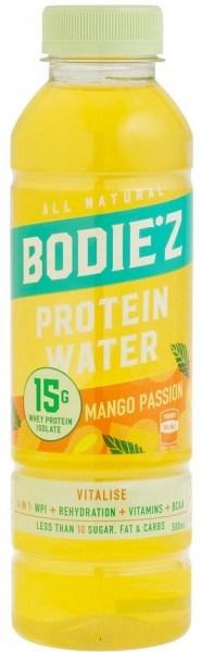 BODIE'z Protein Water Vitalise (15g WPI) Mango Passion 500ml