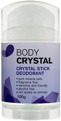 Body Crystal Stick Fragrance Free 100gm