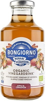 Bongiorno Apple & Cinnamon Organic Vinegar Drink  500ml