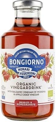 Bongiorno Berries & Pomegrante Organi Vinegar Drink  500ml NOV21