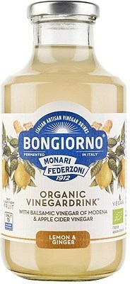 Bongiorno Lemon & Ginger Organic Vinegar Drink  500ml