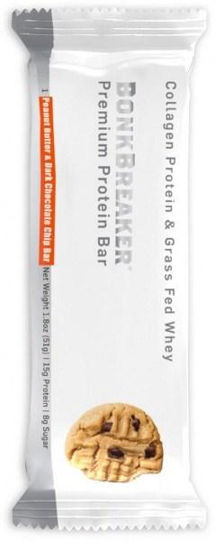 Bonk Breaker Premium Protein Bar Peanut Butter & Dark Choc Chip  51g