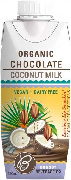 Bonsoy Organic Chocolate Coconut Milk 330ml