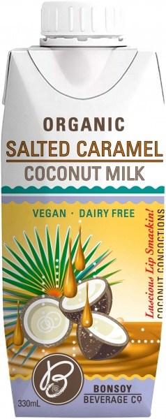 Bonsoy Organic Salted Caramel Coconut Milk 330ml