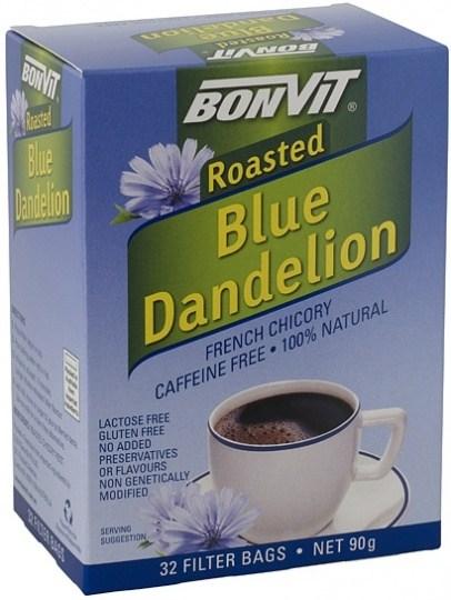 Bonvit Blue Dandelion French Chicory 32 Filter Bags 90g