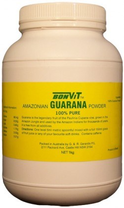 Bonvit Guarana Powder 100% 1kg