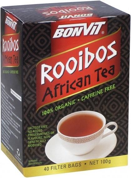 Bonvit Organic Rooibos African Tea 40 FilterTeabags