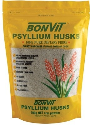 Bonvit Psyllium Husk Gluten Free 500g
