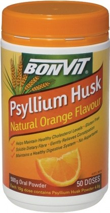 Bonvit Psyllium Husk Powder Natural Orange Flavour 500g