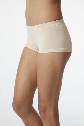 Boody Organic Bamboo Boy Leg Nude M-L
