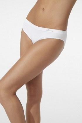 Boody Organic Bamboo Classic Bikini White XL